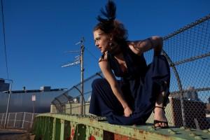 New & Improved visiting artist for July 9: UnAmerika's Sweetheart Karin Webb.