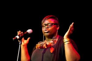 Poet Porsha Olayiwola, July 9 workshop leader and poetry feature at New & Improved.