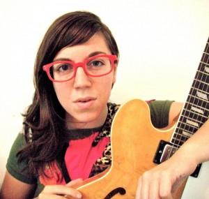Poet-musician Shira Erlichman.