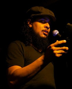 Eliel Lucero, New York City poet and bartender.