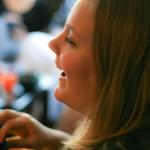 Lisa Slater, touring Vancouver poet.
