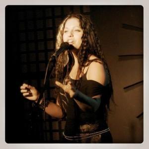 Caroline Harvey, performer, teacher, and poet.