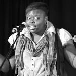 Porsha Olayiwola, dope performer, educator, and coach.