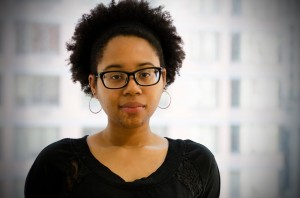 Emerson grad and 2011 Boston Poetry Slam Team member Maya Phillips.