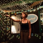 April Ranger performs on the upstairs stage at the Cantab Lounge in 2011. Photo by Marshall Goff.
