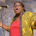 Porsha Olayiwola, Haley House co-founder and 2014 Individual World Poetry Slam Champion.