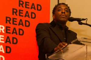 Regie Gibson, MFA in Poetry and National Poetry Slam Champion.