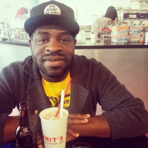 Columbus-gone-Connecticut poet Hanif Willis-Abdurraqib.