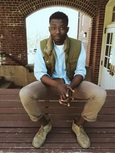 Boston poet, thinker, and teacher Emmanuel Oppong-Yeobah. Photo by Rachel Nyakako.