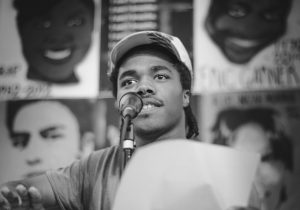 Nkosi Nkululeko, NYC 2016 Youth Poet Laureate. Photo by Gaungpyo Hong.