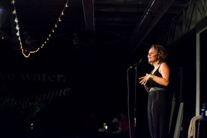 Capital Region NY poet Liv McKee. Photo by Robert Cooper.
