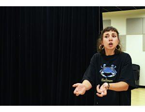 Sara Mae, Slam Free or Die's 2017 Individual World Poetry Slam representative. Photo by CJ West.