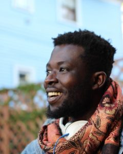 Pushcart Prize winner and teaching artist Emmanuel Oppong-Yeboah. Photo by Jasmine Boyd-Perry.