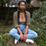Denver poet, Yale grad, and Environmental Studies major Ashia Ajani. Photo by Alice Oh.