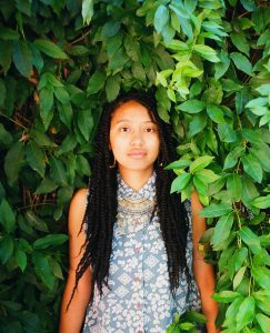 San Antonio poet and Academy of American Poets prizewinner Ariana Brown. Photo by Adam Hamze.