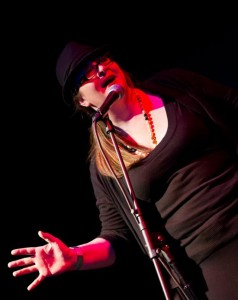 Emily Rose performs at Tourettes Without Regrets.