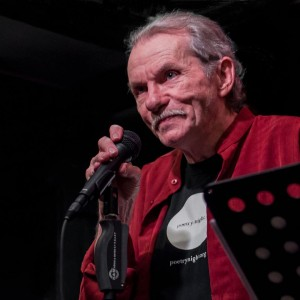The late Jack McCarthy performing at his last Cantab feature on June 15, 2011. Photo by Richard Beaubien.