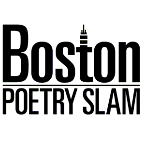 Boston Poetry Slam official logo, by Gary Hoare.