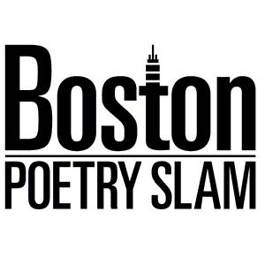 Boston Poetry Slam official logo, by Gary Hoare.