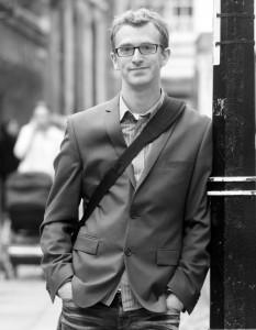 Craig Nelson, Northampton Poetry curator.