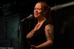 New York poet Jeanann Verlee. Photo by Rich Beaubien.