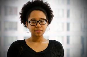Emerson grad and 2011 Boston Poetry Slam Team member Maya Phillips.