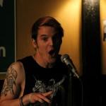 John Mortara of Northampton Poetry Slam. Photo by Christopher Clauss.