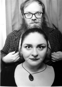 Chicago Thoughtcrime duo Emily Rose and Ben Clark.
