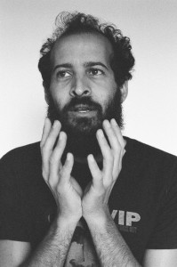 Anis Mojgani, champion of all the things. Photo by Natalie Seebooth.