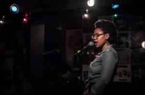 Poets for Ferguson founder Sasha Banks. Photo by Brian Redondo.