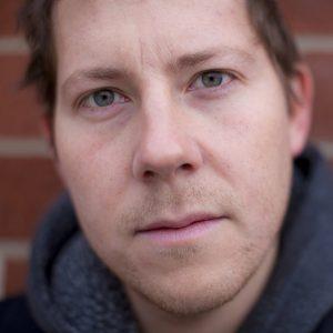 Jon Sands, NYC poet and podcast host. Photo by Jonathan Weiskopf.