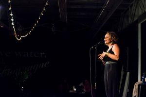 Capital Region NY poet Liv McKee. Photo by Robert Cooper.