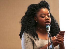 Artist, writer, and Pushcart nominee Tatiana M.R. Johnson. Photo by Tim Carey.