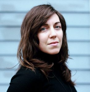 Shira Erlichman, author of Odes to Lithium. Photo by Hieu Minh Nguyen.