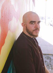 Chicago poet and author of Citizen Illegal: José Olivarez. Photo by Marcos Vasquez.