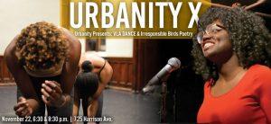 Boston Poetry Slam meets dance: image courtesy Urbanity X.